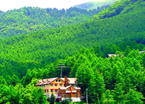 温泉山岳ホテルアンデルマット